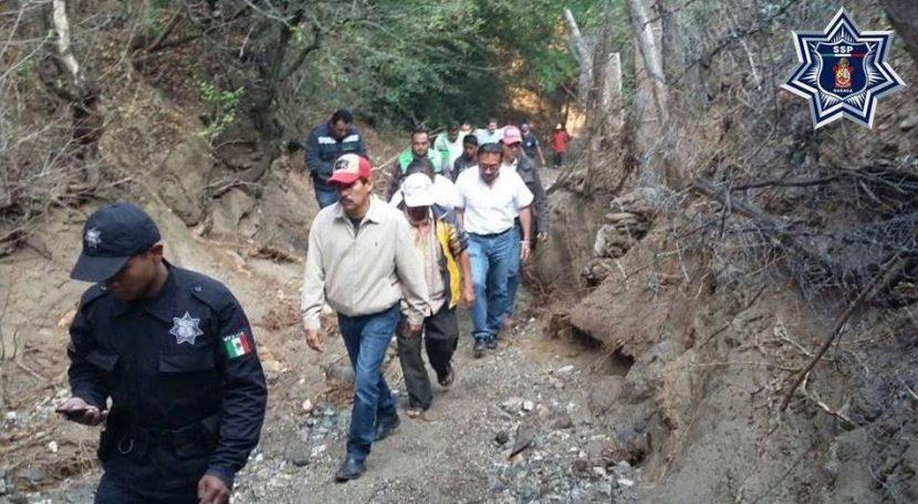 Fuerzas estatales activan plan de auxilio y refugio en Teotitlán