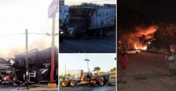 """Muerte del """"Comandante Toro"""" y """"Pancho"""" Carreón dejó 32 bloqueos y 27 incendios en Reynosa"""