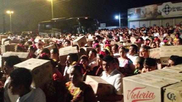 Mayo, mes de las tradicionales velas istmeñas en Oaxaca