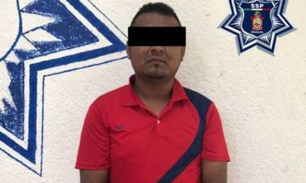 Detiene policía estatal a presunto responsable de asalto a mano armada en Juchitán