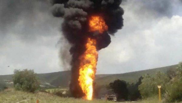 -Extraoficial- Cuatro muertos por explosión de ducto de PEMEX en Tierra Blanca
