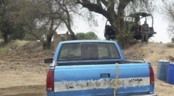 Sedena y SSP aseguran mil litros de hidrocarburo en Michoacán
