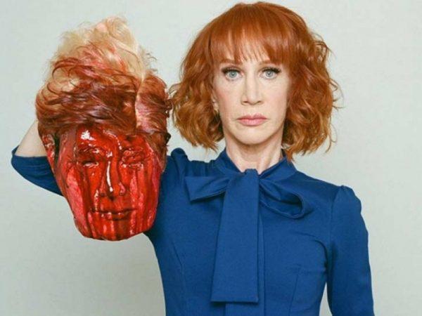 CNN despide a comediante que 'decapitó' a Trump