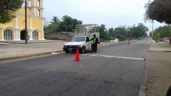 Intensifica tránsito del estado, operativos para detectar vehículos robados