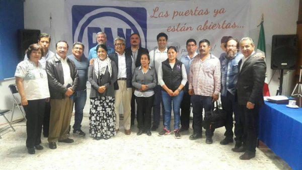 Nombran a Adán Maciel Coordinador de Presidentes Municipales del PAN en Oaxaca