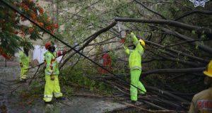Por lluvias fuertes, activa SSPO plan estatal de auxilio a la población