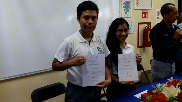 Alumnos del CBTis 107 representarán a México en Chile