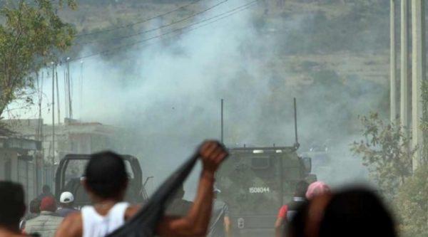 Reportan enfrentamiento entre huachicoleros y PF, en Veracruz