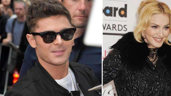 ¿Zac Efron tuvo encuentro intimo con Madonna?