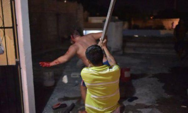 """""""Ruso Nazi"""" de Cancún es linchado, al defenderse asesina a joven"""