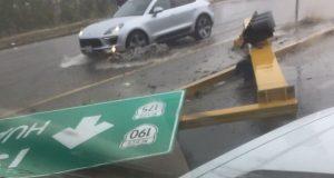 Lluvia en la ciudad de Oaxaca deja daños materiales