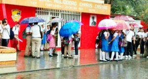 Sin clases en el Istmo por lluvias
