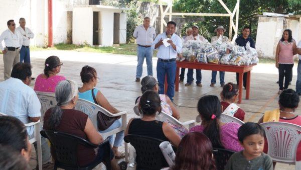 Loma Alta agradece apoyo de sus autoridades municipales