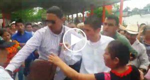 #VIDEO Diputado Huerta amenaza a habitantes de Ojitlán, luego de suponer que el palacio municipal estaba tomado