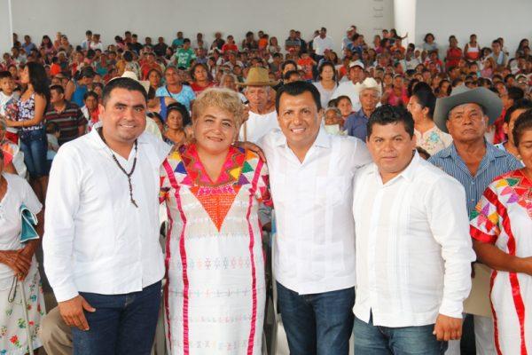 Servir y atender a las comunidades de Oaxaca es mi tarea permanente: Diputado Samuel Gurrión