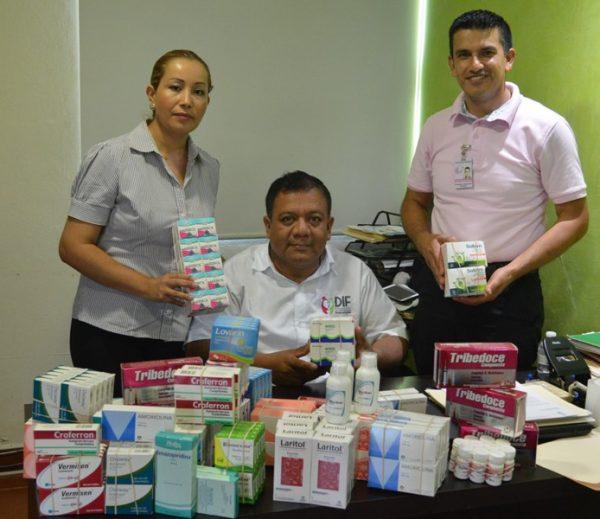 Donaciones amplían capacidad de respuesta a quienes menos tienen: María Luisa Vallejo