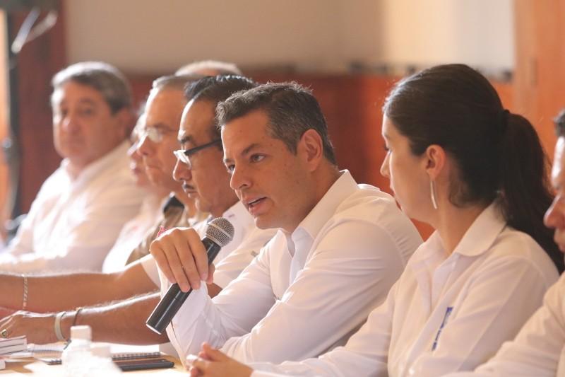 Alejandro Murat  realiza Declaratoria de Temporada de Lluvias, Huracanes y Ciclones Tropicales