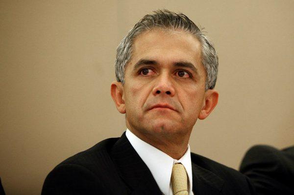 Mancera dejará su cargo después del 17 de septiembre