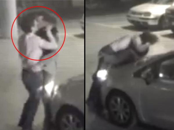 VIRAL: Chocan sus vehículos y resuelven el conflicto con encuentro íntimo [VIDEO]
