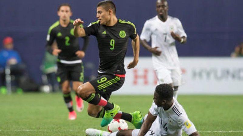 México sub 20 empató con Alemania