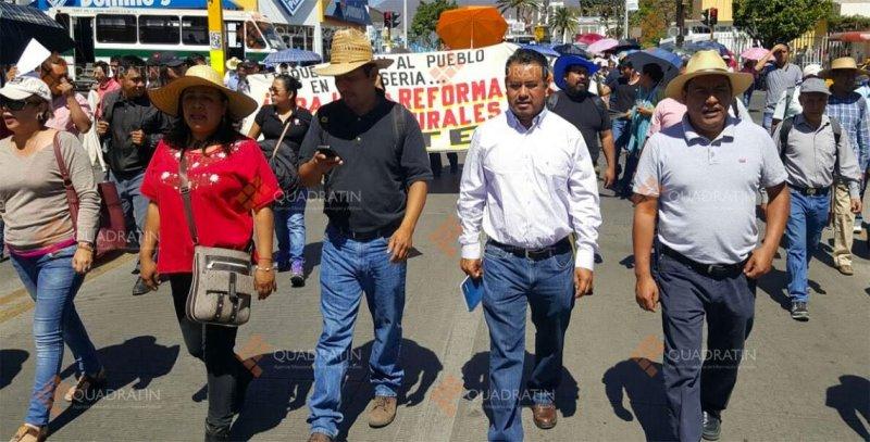Posicionamiento del gobierno del estado ante manifestaciones de maestros agremiados
