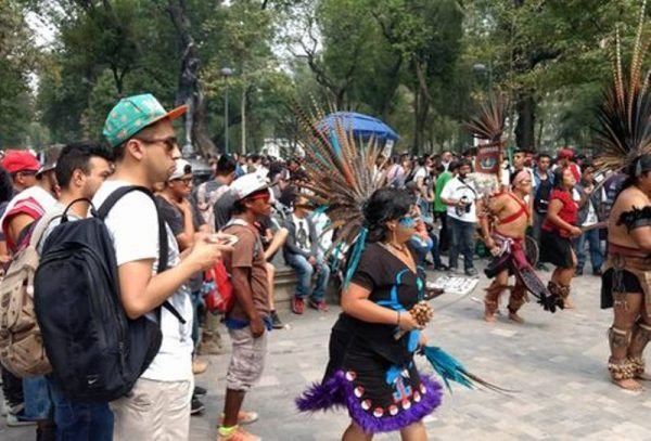 Marchan por la legalización de la mariguana en la CdMx