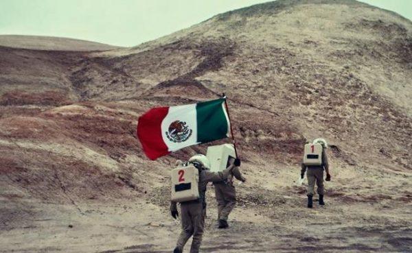 """Mexicano Yair Piña ya ondea bandera en """"Marte"""""""