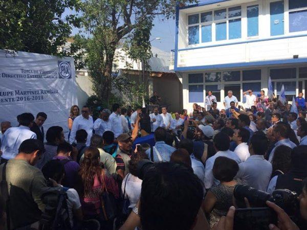 Llama Luis de Guadalupe a la unidad interna del PAN en Oaxaca