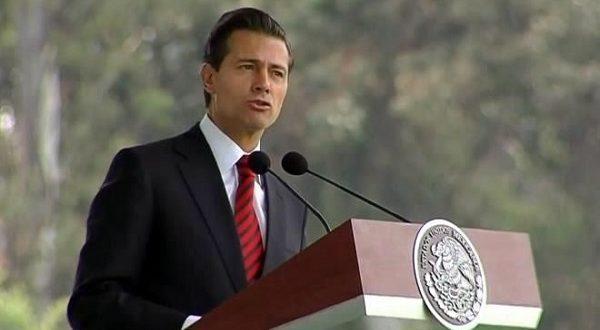 Terminaremos con huachicoleros, promete Peña
