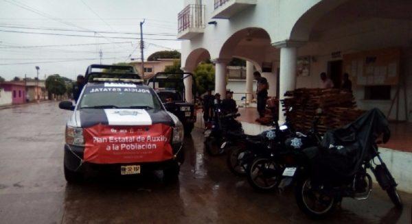 Por intensas lluvias activan nueve refugios temporales en Salina Cruz