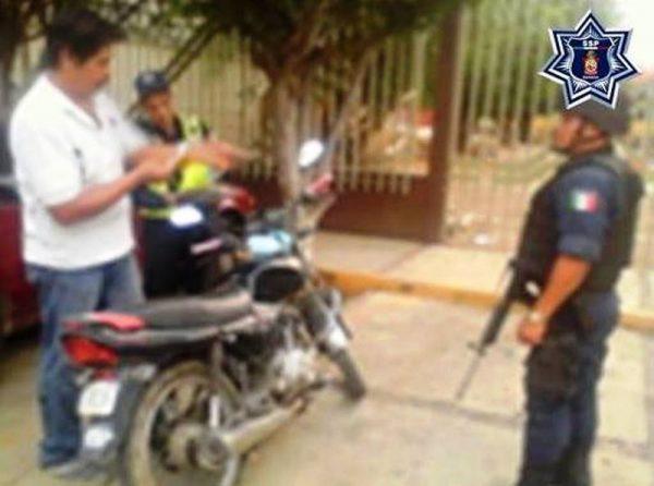 Confirma Policía Estatal el aseguramiento de seis motocicletas en Pinotepa Nacional
