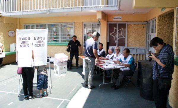 #Elecciones2017 Reporta INE 99.99% de casillas instaladas y más de 800 incidentes menores
