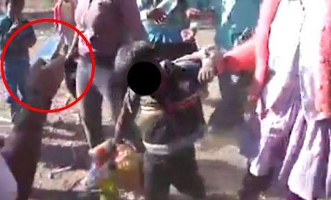 Emborrachan a niños en fiesta de pueblo para viralizarlos (+video)