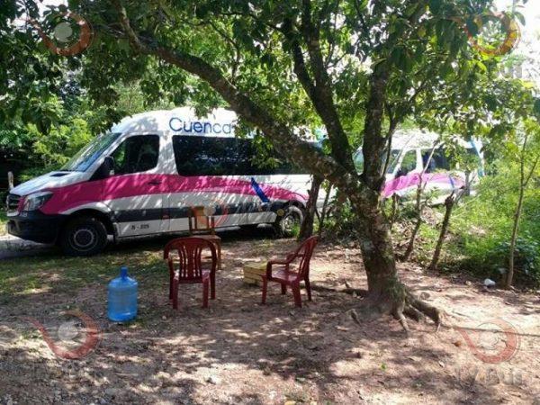 Detiene la 23 de octubre a 3 vehículos de la línea Cuenca en Valle
