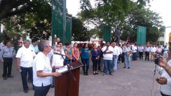 A tres meses de presunto espionaje, periodistas conmemoran día de libertad de expresión