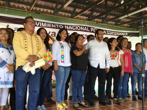 Movimiento Nacional por la Esperanza realiza asamblea distrital en Tuxtepec