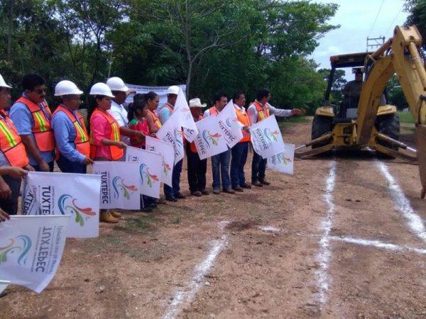 Ampliación de drenaje en San Juan Bautista de Matamoros