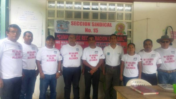 """Sindicalizados de la CDI, inician campaña """"no me alcanza mi salario"""""""