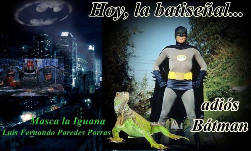 Masca la Iguana/La Batiseñal hoy en el cielo californiano