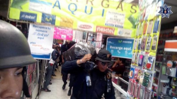 32 mil piezas de pirateria decomisadas en Oaxaca