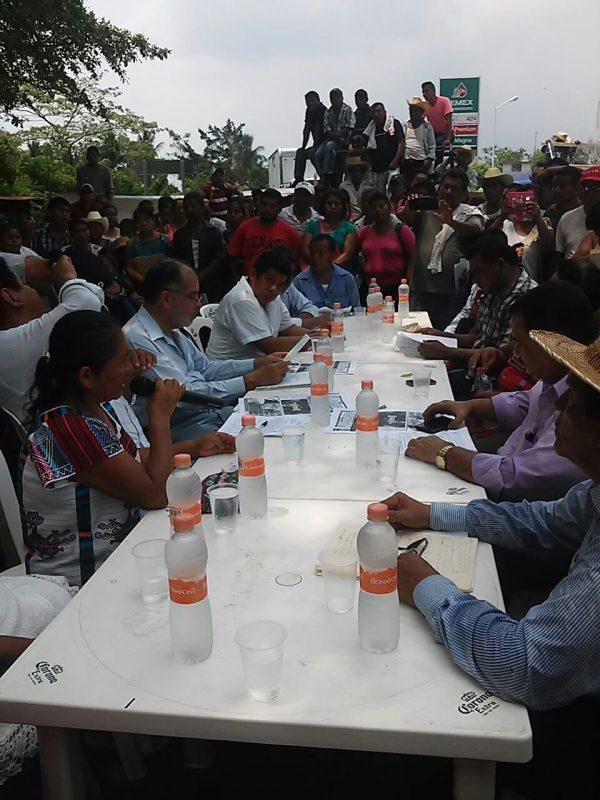 Concejales inconformes de Ojitlán, regresan a trabajar