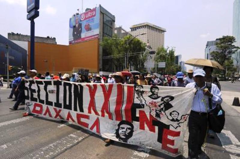 CNTE deja sin clases a un millón de alumnos en Oaxaca