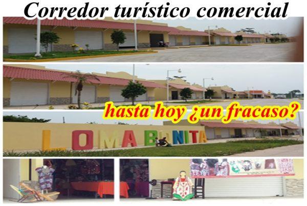 Sólo el 12 % de locales aperturados en el corredor turístico comercial de Loma Bonita