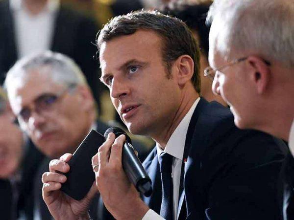 Macron le da 'cachetada con guante blanco' a Trump con este mensaje
