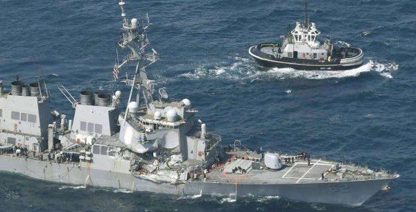 Desaparecen en Japón siete marines estadounidenses