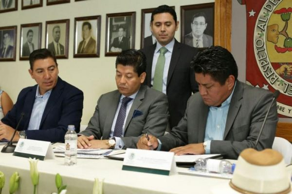 Asume IME responsabilidad en firma del aval de carta de la tierra