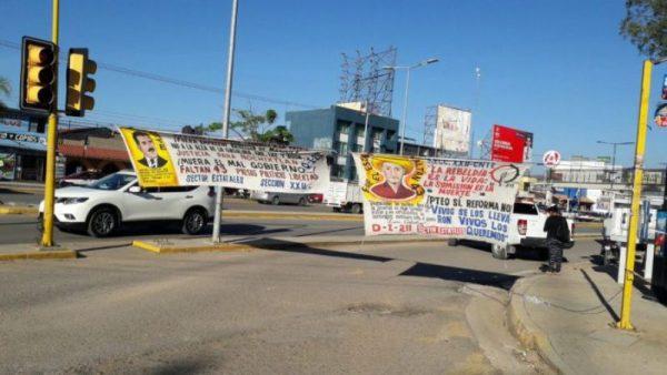 Barricada cultural contra Reforma Educativa en Oaxaca
