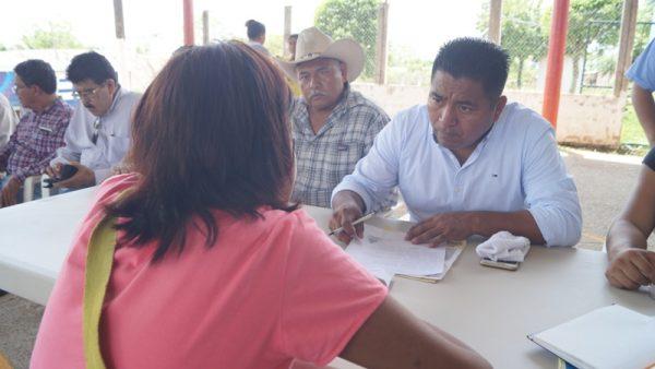 Realiza Ayuntamiento Sábado Ciudadano en Pueblo Nuevo Ojo de Agua