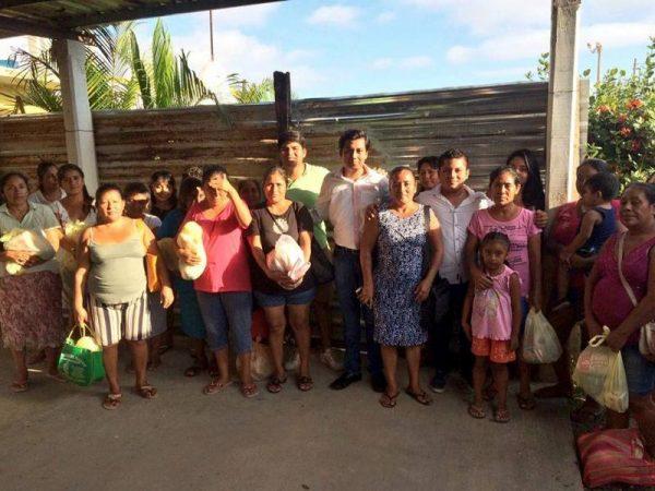 Gestiona Samuel Gurrión ayuda para los damnificados de la Tormenta #Beatriz