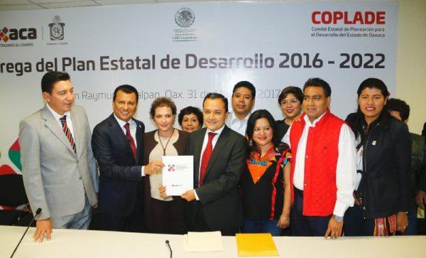 Analizará Congreso del Estado el plan rector que consolidará el desarrollo de Oaxaca: Dip. Samuel Gurrión